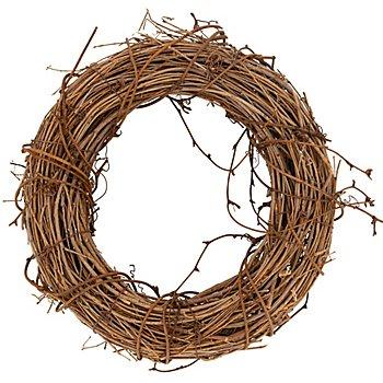 Couronne en sarment de vigne, marron, 22 cm Ø