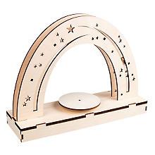 Kit créatif en bois 'ciel nocturne' avec plateau tournant