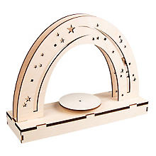 3D-Holzbausatz 'Nachthimmel' mit Drehteller