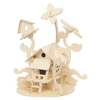 Kit créatif en bois 'maison des fées', 21 x 23 cm