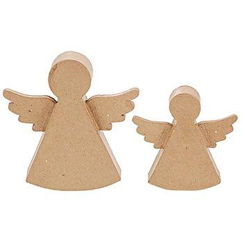 Set d'anges en carton, 2 pièces
