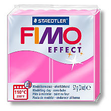 Fimo effect, neonpink, 57 g