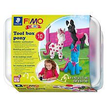 FIMO kids Kit créatif 'poney'