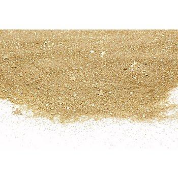 Glassand 'Sterne', gold, 800 g