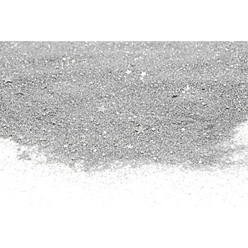 Glassand 'Sterne', silber, 800 g