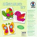 """Ursus Knüddelbilder-Set """"Tiere"""", 6 Stück"""