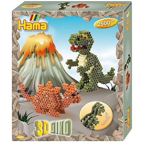"""Image of Hama Bügelperlen-Set """"3D Dinos"""""""