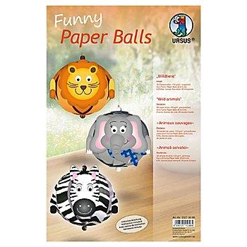 Ursus Paper Balls 'Wildtiere'