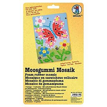 Ursus Papier mousse mosaique 'papillon', 23,5 x 16,5 cm