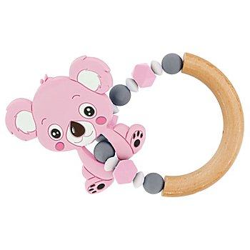 Beissring-Set 'Koala', rosa