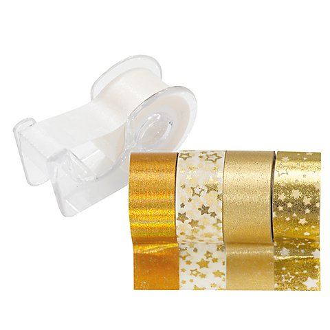 Image of Deko-Tape-Mini, gold, 12 mm, 15 m