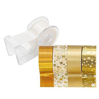 Deko-Tape-Mini, gold, 12 mm, 15 m