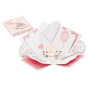 Kit créatif Boite surprise 'romance',  7,5 x 7,5 x 7,5 cm