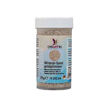 Mineralsand goldglimmer, 70 g