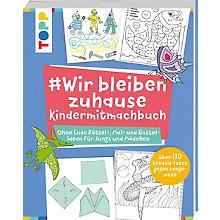Buch '# Wir bleiben zuhause – Kindermitmachbuch'