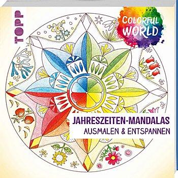 Buch 'Jahreszeiten-Mandalas – Ausmalen & Entspannen'
