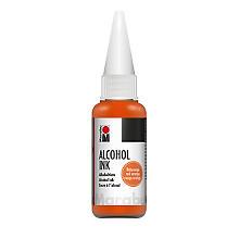 Marabu Alcohol Ink in verschiedenen Farbtönen, 20 ml