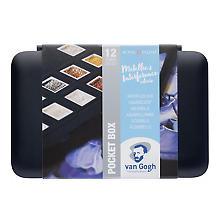 Van Gogh Aquarellfarben in Näpfchen, 12er Pocketbox