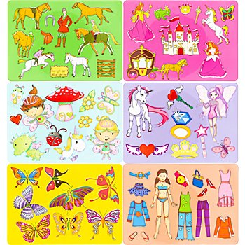 Ursus Set de pochoirs 'filles'