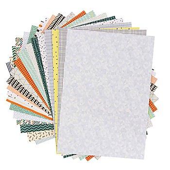 Folia Set de papier 'minimaliste', 24 x 34 cm, 20 feuilles
