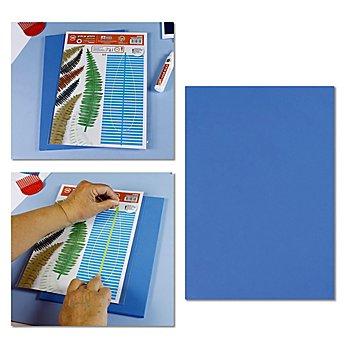 Tapis en mousse, 21 x 30 cm, 9 mm, bleu