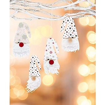 Papier-Set 'Wichtel', 10 Stück