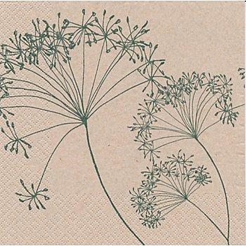 Papierservietten 'Pusteblumen', 33 x 33 cm, 20 Stück