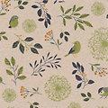 """Serviettes en papier """"oiseaux et branches"""", 33 x 33 cm, 20 pièces"""