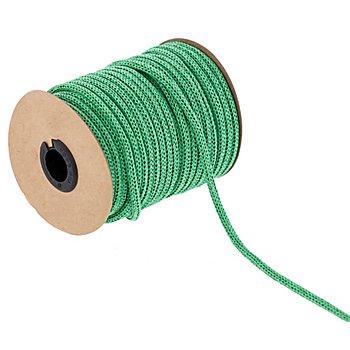 Strickschlauch aus Papiergarn, grün, 4 mm, 30 m