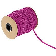 Strickschlauch aus Papiergarn, pink, 4 mm, 30 m