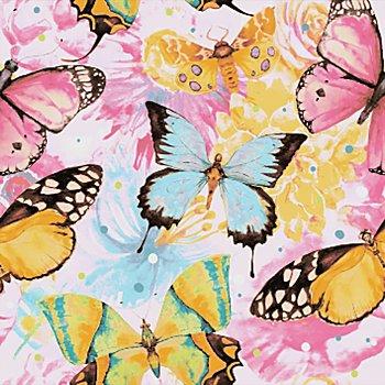 Diamantenstickerei-Set 'Gemusterte Schmetterlinge', 25 x 25 cm