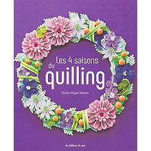 Livre 'Les 4 saisons du quilling'