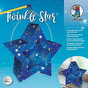 Laternen-Bastelset Stern 'Sternenglanz'