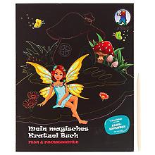 Ursus Livret magique avec 12 motifs à gratter 'fées et princesses'
