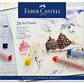 Faber-Castell Soft-Pastellkreiden, 24 Stück