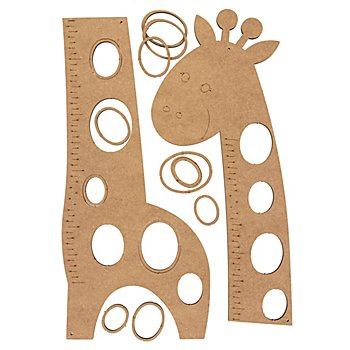 MDF Messlatte 'Giraffe', 114 cm