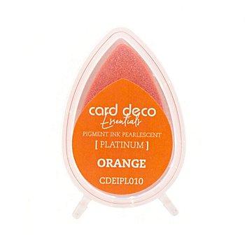 Stempelkissen, orange, 23 x 36 mm