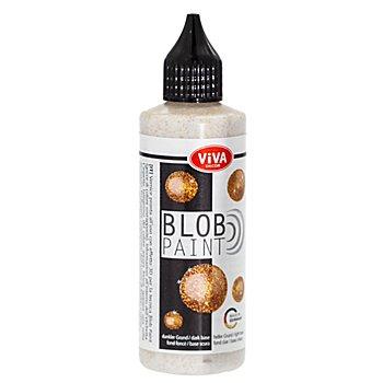 Peinture pour Blob Painting, doré scintillant, 90 ml