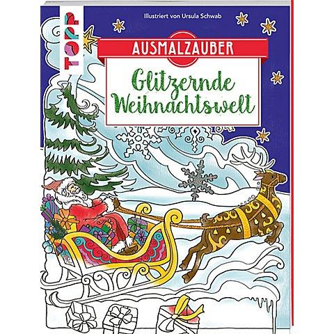 """Image of Buch """"Ausmalzauber - Glitzernde Weihnachtswelt"""""""