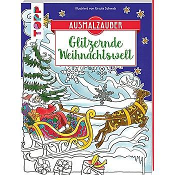 Buch 'Ausmalzauber - Glitzernde Weihnachtswelt'