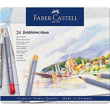 Goldfaber crayons aquarelle, 24 crayons