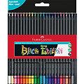Buntstifte-Set Black Edition, 24 Stifte