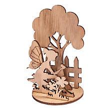 Holz-Steckteile 'Elfen', 2 Stück