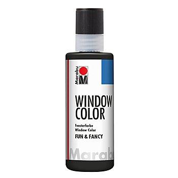Marabu Konturenfarbe schwarz, 80 ml