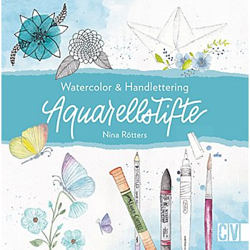 Buch 'Watercolor & Handlettering Aquarellstifte'