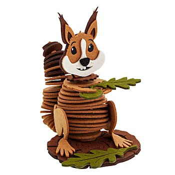 Filz-Bastelset 'Eichhörnchen'