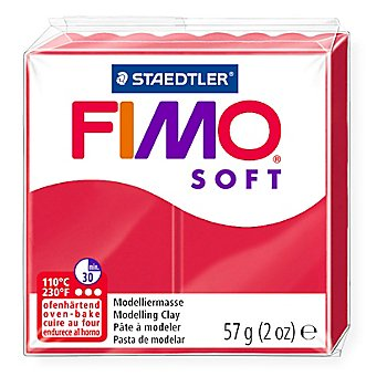 Fimo-Soft, kirschrot, 57 g