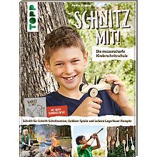 Buch 'Schnitz mit! - Die messerscharfe Kinderschnitzschule'
