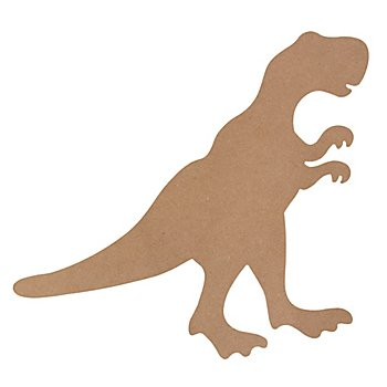Dinosaure en MDF, 48x40 cm