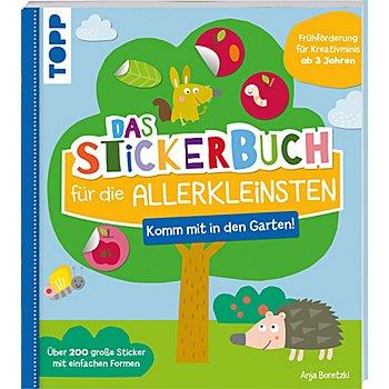 Buch 'Das Stickerbuch für die Allerkleinsten - Komm mit in den Garten'